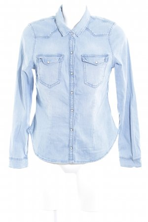 H&M Divided Jeanshemd himmelblau Country-Look