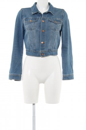 H&M Divided Denim Jacket blue casual look