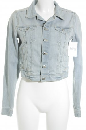 H&M Divided Jeansjacke himmelblau Casual-Look