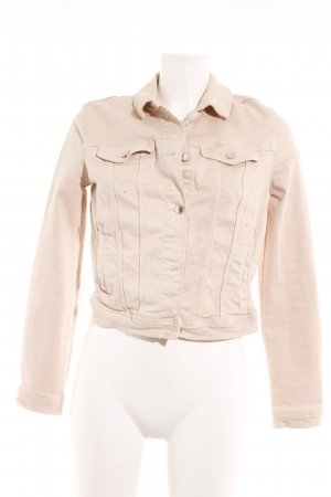 H&M Divided Jeansjacke nude Casual-Look