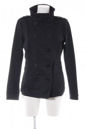 H&M Divided Jeansjacke schwarz Casual-Look