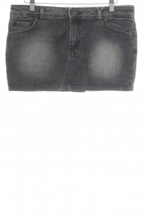 H&M Divided Jeansrock dunkelgrau Casual-Look