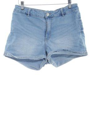 H&M Divided Denim Shorts light blue casual look