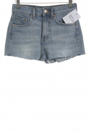 H&M Divided Jeansshorts hellblau Casual-Look