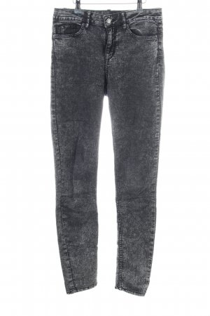 H&M Divided Jeggings schwarz Casual-Look