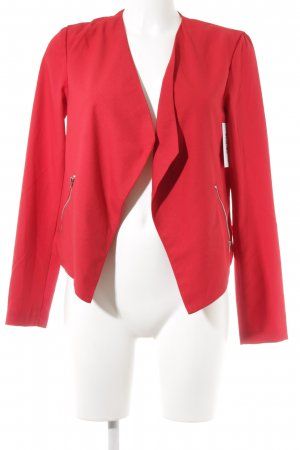 H&M Divided Jerseyblazer rot Party-Look