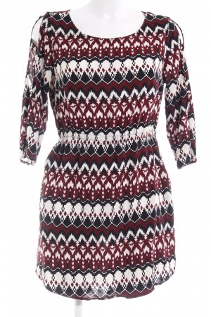 H&M Divided Jerseykleid abstraktes Muster Casual-Look