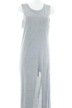 H&M Divided Jerseykleid hellgrau meliert Casual-Look