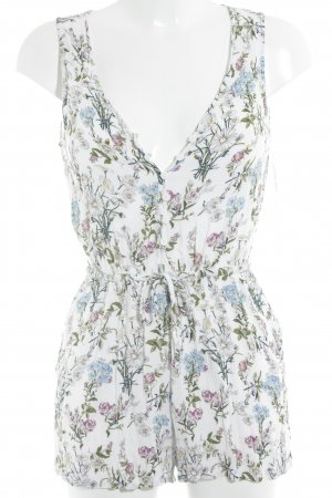 H&M Divided Jumpsuit florales Muster Romantik-Look