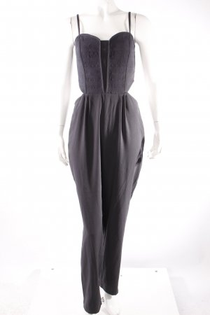 H&M Divided Jumpsuit schiefergrau