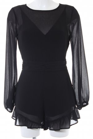 H&M Divided Jumpsuit schwarz Boho-Look