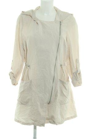 H&M Divided Giacca con cappuccio beige chiaro stile casual