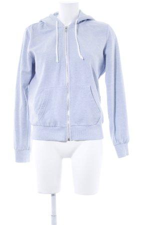 H&M Divided Kapuzenjacke himmelblau sportlicher Stil