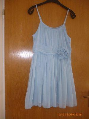 H&M /DIVIDED Kleid gr 38 hellblau ,festlich
