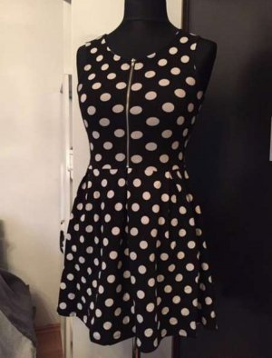 H & M Divided Kleid - Polkadots