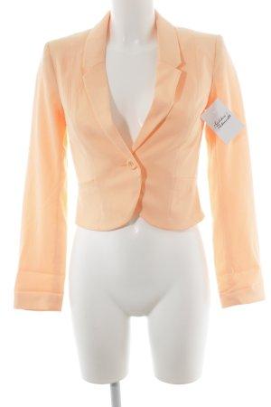 H&M Divided Kurz-Blazer neonorange Elegant
