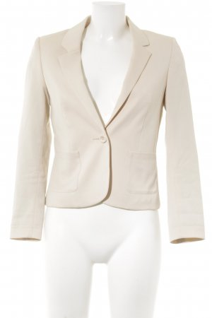 H&M Divided Kurz-Blazer nude Business-Look