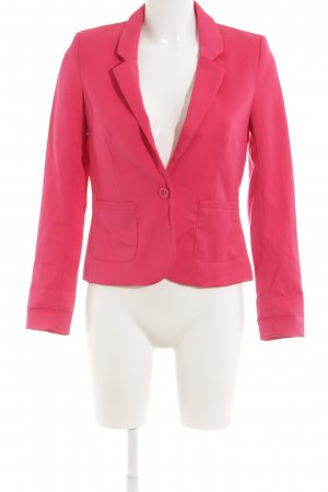 H&M Divided Kurz-Blazer pink Elegant