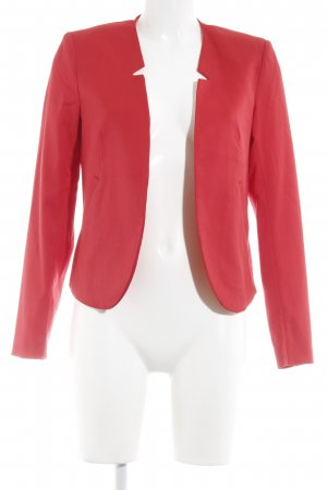 H&M Divided Kurz-Blazer rot Business-Look