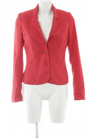 H&M Divided Kurz-Blazer rot-pink Casual-Look