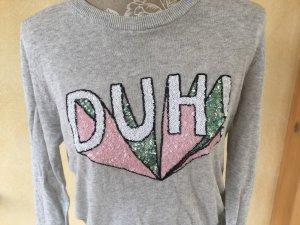 H&M Divided Kurz-Pulli Gr. M, mit Pailletten