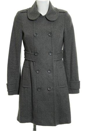 H&M Divided Kurzmantel grau 90ies-Stil