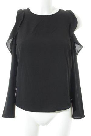 H&M Divided Langarm-Bluse schwarz