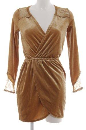 H&M Divided Langarmkleid bronzefarben Elegant