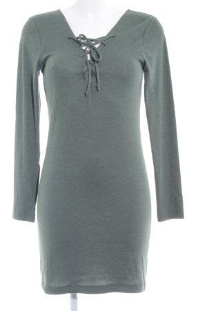 H&M Divided Langarmkleid khaki Casual-Look