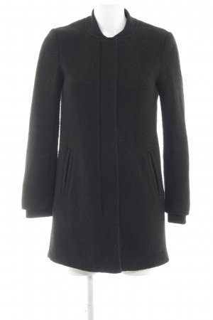 H&M Divided Veste longue noir style d'affaires