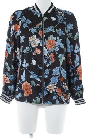 H&M Divided Veste longue motif de fleur style mode des rues