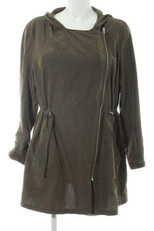 H&M Divided Long Jacket khaki casual look