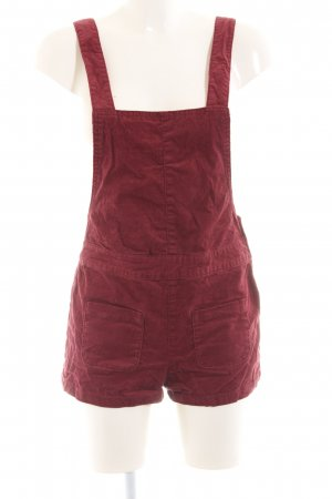 H&M Divided Dungarees red casual look