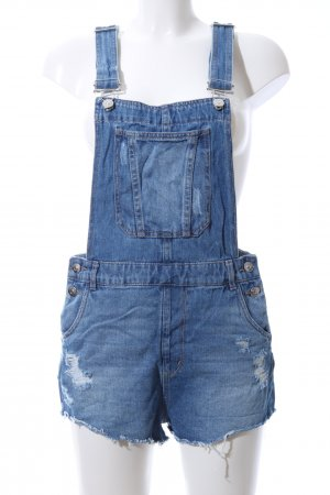 H&M Divided Dungarees blue casual look