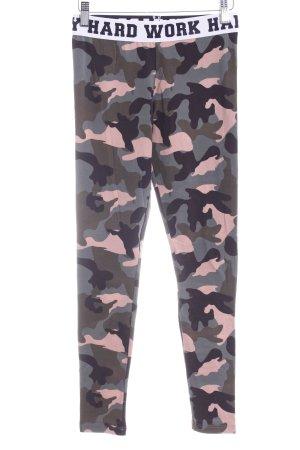 H&M Divided Leggings Camouflagemuster Casual-Look