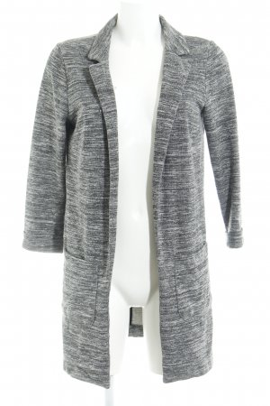 H&M Divided Long-Blazer dunkelgrau meliert Casual-Look