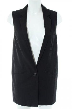 H&M Divided Long-Blazer schwarz Business-Look