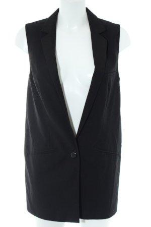 H&M Divided Long-Blazer schwarz Business-Look