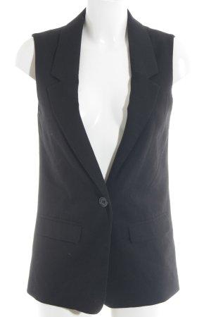 H&M Divided Long-Blazer schwarz Elegant