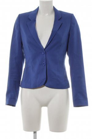 H&M Divided Long-Blazer stahlblau Casual-Look