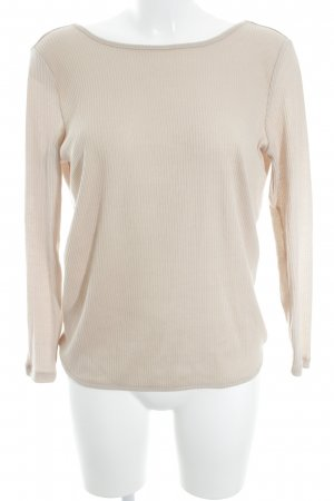 H&M Divided Longsleeve nude Urban-Look