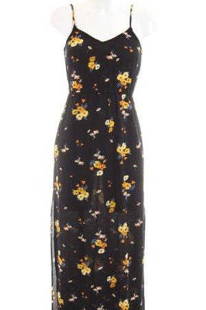 H&M Divided Maxi-jurk bloemenprint casual uitstraling