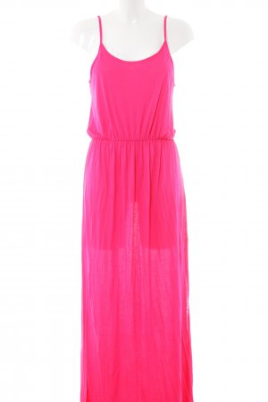 H&M Divided Maxikleid pink Casual-Look