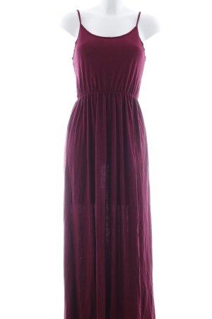 H&M Divided Maxikleid purpur meliert Casual-Look