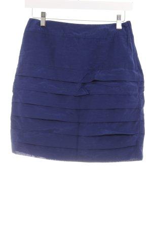 H&M Divided Midirock blau Lagen-Look