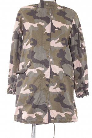 H&M Divided Militaryjacke Camouflagemuster Military-Look