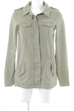 H&M Divided Military Jacket olive green military look