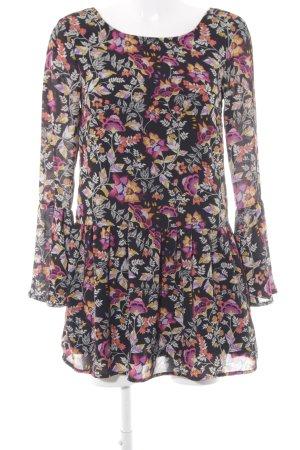 H&M Divided Minikleid florales Muster Romantik-Look