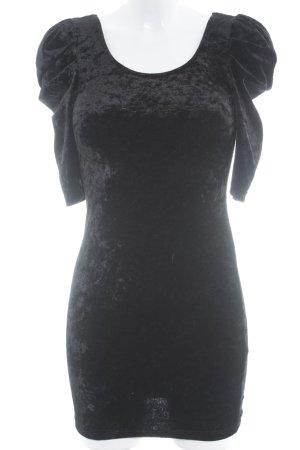 H&M Divided Minikleid schwarz schlichter Stil
