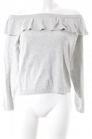 H&M Divided Oversized Pullover hellgrau minimalistischer Stil